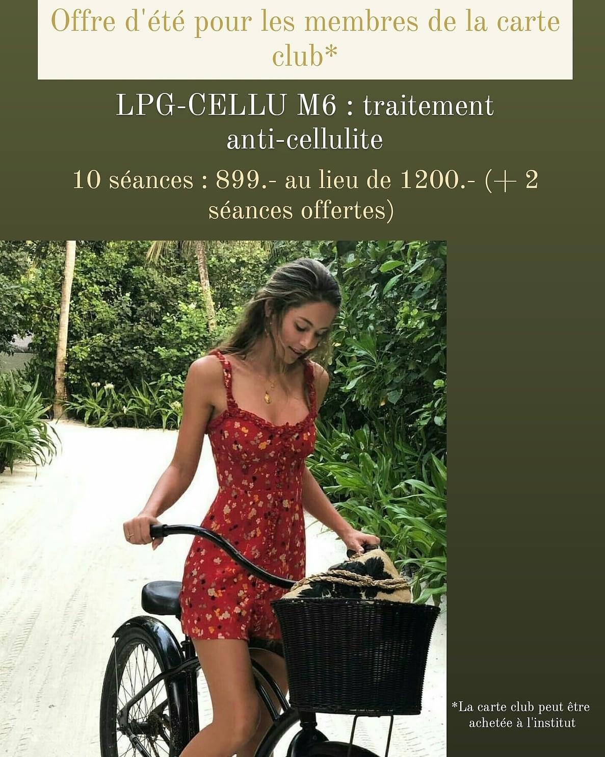 LPG cellulite treatment Lausanne